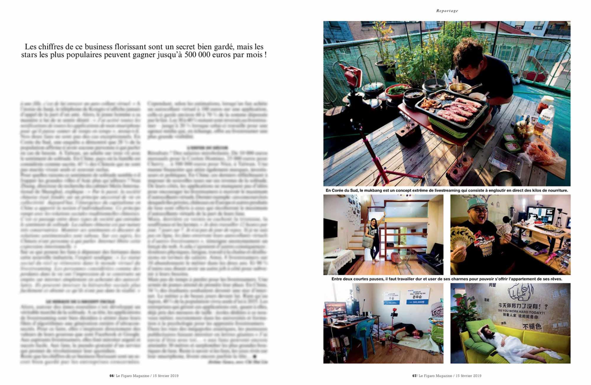 Jerome Gence Le Figaro Magazine